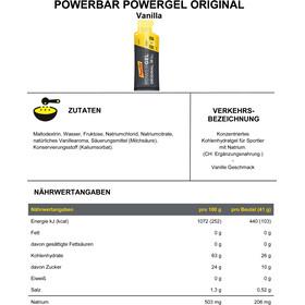 PowerBar PowerGel Original Box 24x41g, Vanilla